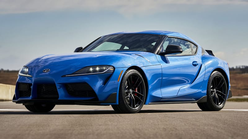 2021 Toyota Supra adds a four-cylinder and more power for the inline-six