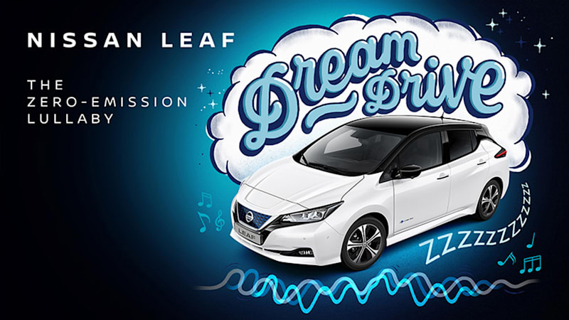photo of Nissan's baby lullaby album combines gas and electric noises image