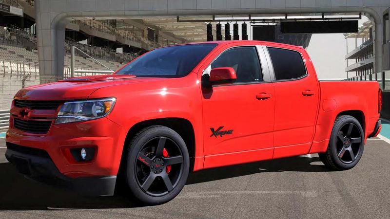 SVE Chevrolet Colorado Xtreme roars down memory lane
