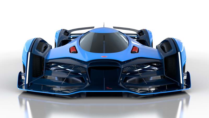 Max Lask creates Bugatti Vision Le Mans 2050 concept car