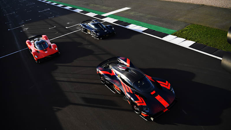 Aston Martin is building 8 Valkyrie prototypes, here's the first trio