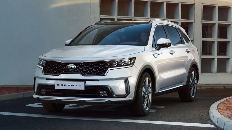 2021 Kia Sorento engines, specs revealed before Geneva Motor Show