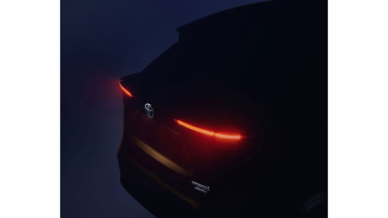 Toyota teases Yaris-based crossover for Europe