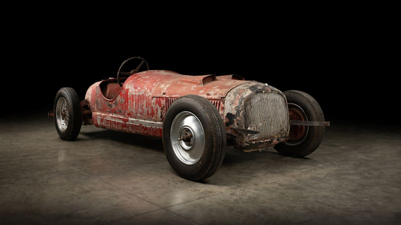 1930 Alfa Romeo 6C 1750 owned by Mussolini getting restoration