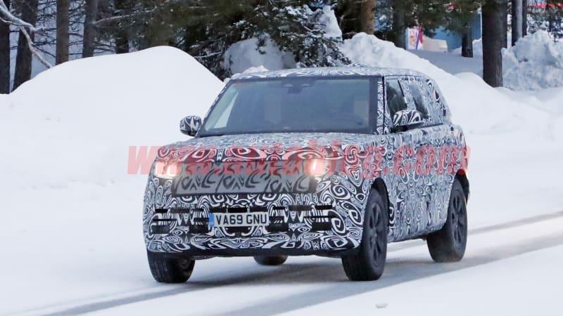 Long-wheelbase 2021 Range Rover revealed in new spy photos