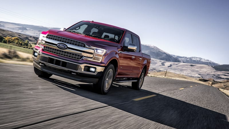 Ford F-150 gets recalls for headlights, engine-block heater cables