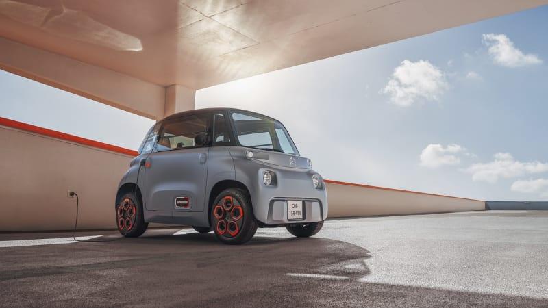 Citroen introduces cheap, electric Ami city car