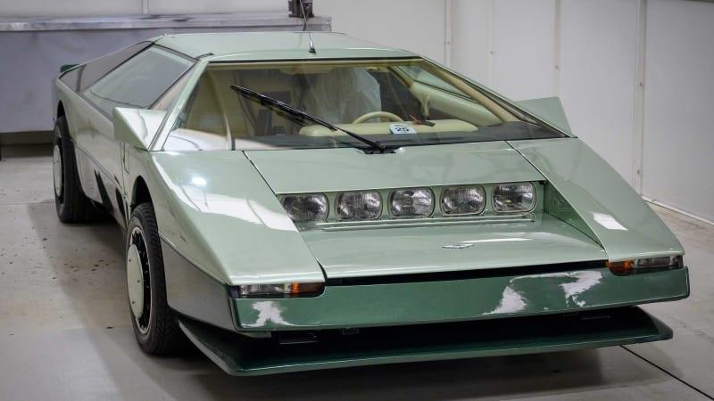 Концепт Aston Martin Bulldog 1980 года попытается преодолеть барьер в 200 миль в час