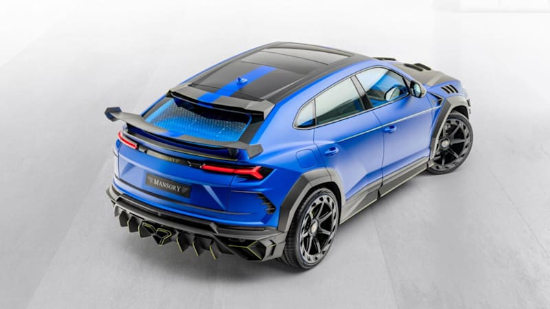 Mansory S Lamorghini Urus Venatus Is The Embodiment Of Visibility Autoblog