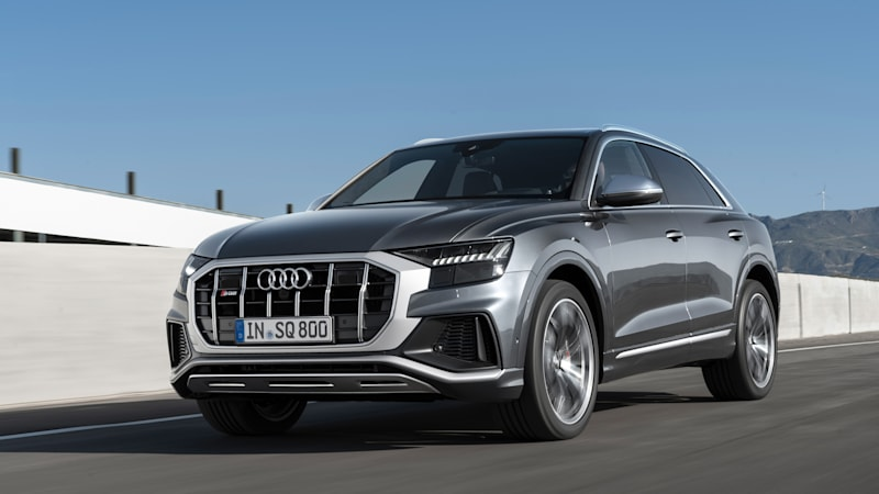Audi announces pricing for 500-horsepower SQ8 crossover coupe