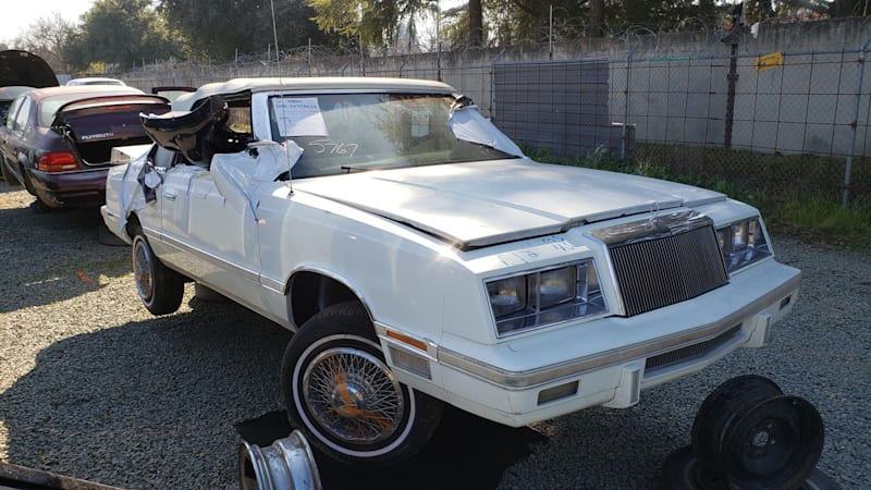 1983 CHRYSLER LEBARON TOWN /& COUNTRY CONVERTIBLE Car Vintage Look METAL SIGN