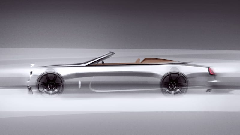 Limited-edition Rolls-Royce Dawn Silver Bullet roadster announced
