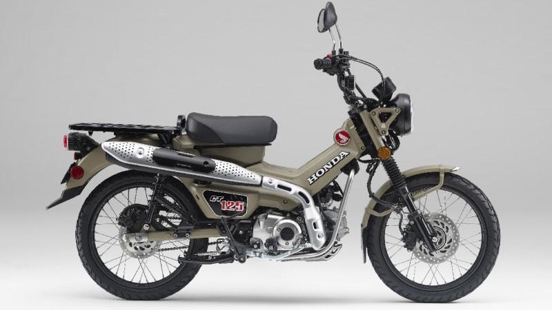 Honda introduces 2020 CT125 Hunter Cub motorbike