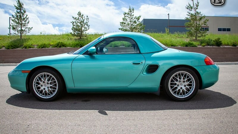 Used Porsche Boxsters and Caymans for sale in auctions and online listings