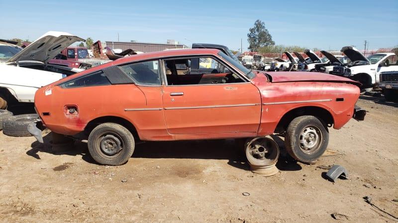 Junkyard Gem: 1978 Datsun B210