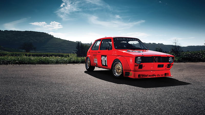 1975 Volkswagen Golf Group 2 race car for sale