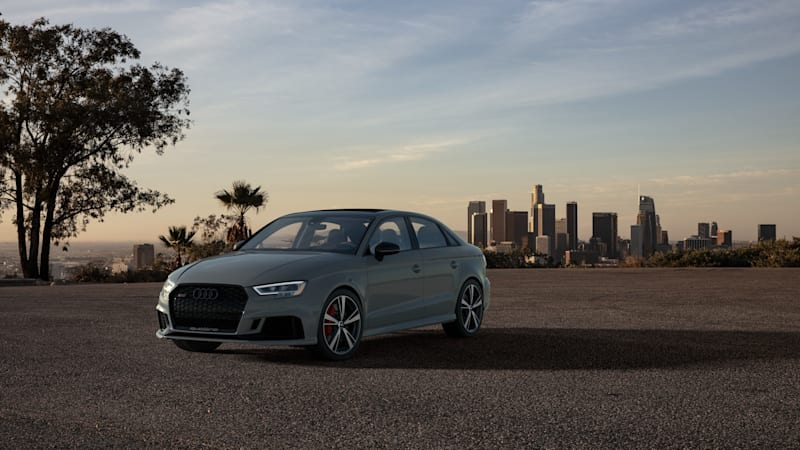 2020 Audi RS 3 Nardo Edition is aimed at enthusiasts who revere handling