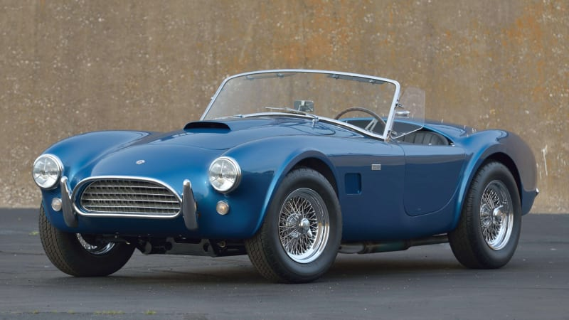 Rare 1963 Shelby Cobra 289 headed to Mecum Indy 2020 auction