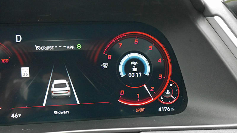 2020 Hyundai Sonata driver tech 3