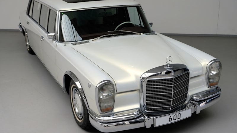 Resto-modded 1975 Mercedes-Benz 600 listed for sale in Holland