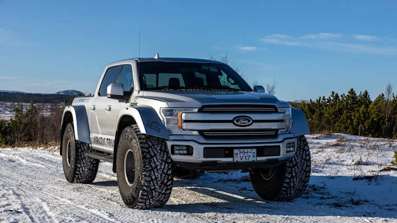 Weight loss diet Arctic Trucks Ford F-150 AT44 the best way to make cage-fighting snow angels thumbnail