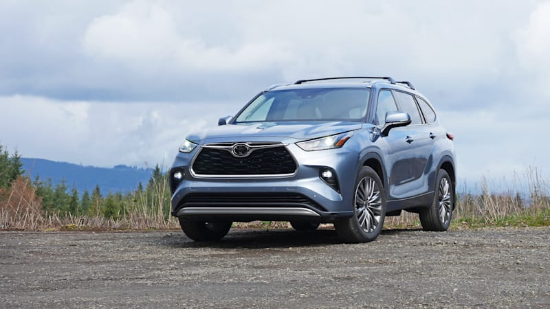 2020 Toyota Highlander recalled for airbags that might not deploy
