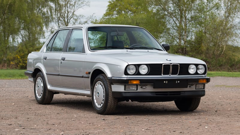 Unregistered 1986 Bmw 325ix With 315 Miles For Sale In England Autoblog