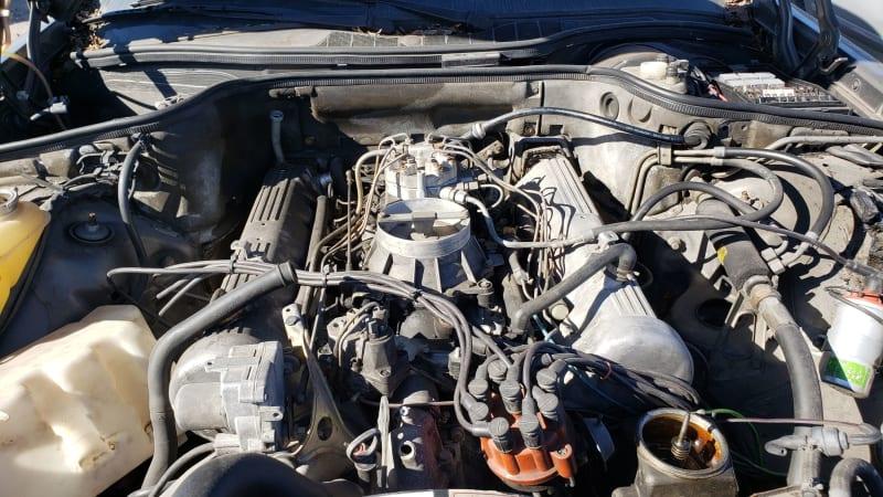 Junkyard Gem 1983 Mercedes Benz 380sec Technology Shout