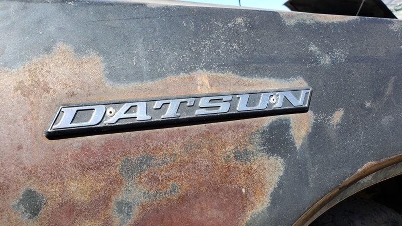 Junkyard Gem: 1976 Datsun 620 Pickup