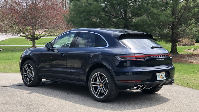 2020 Porsche Macan Luggage Test   It's more coupe-like than expected