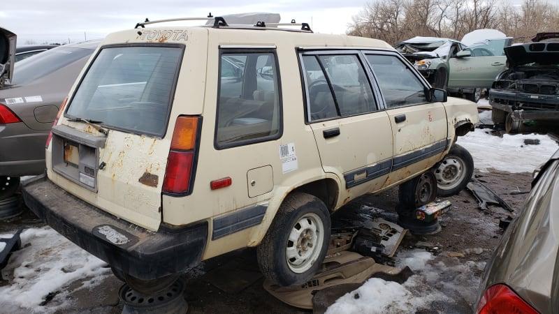Junkyard Gem: 1983 Toyota Tercel SR5 4WD Wagon