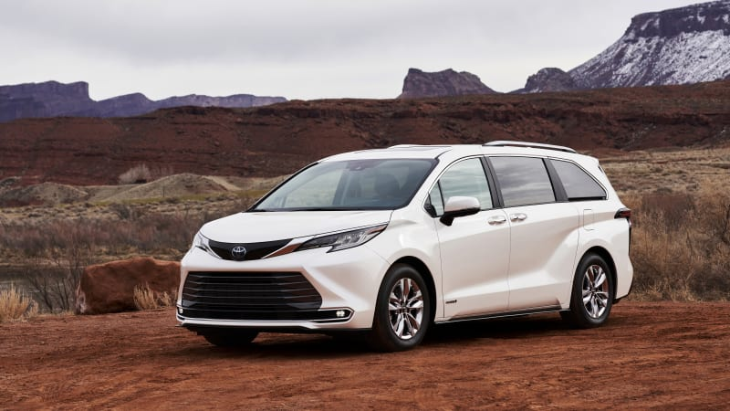 2021 Toyota Sienna minivan: Inspired by Bullet Train