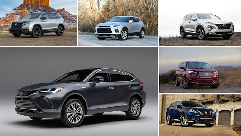 2021 Toyota Venza vs midsize crossovers: How they compare on paper