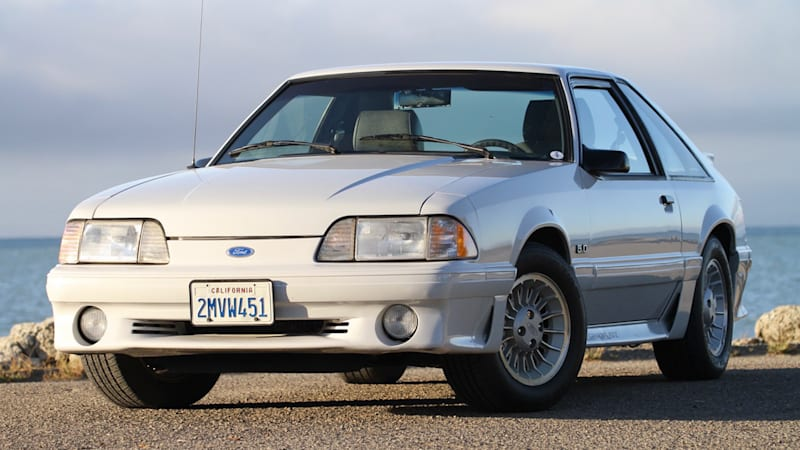 A clean 1989 Ford Mustang GT 5.0 is up for auction on Bring a Trailer