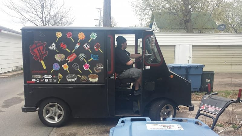 Minneapolis ice cream truck dispenses 'metal music and disappointment'