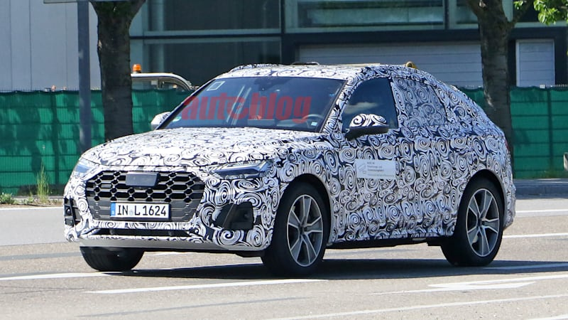 2021 Audi Q5 Sportback spied, confirming rumors