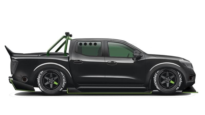 SB Motorsport building a 1,000-hp GT-R-powered Navara frankentruck