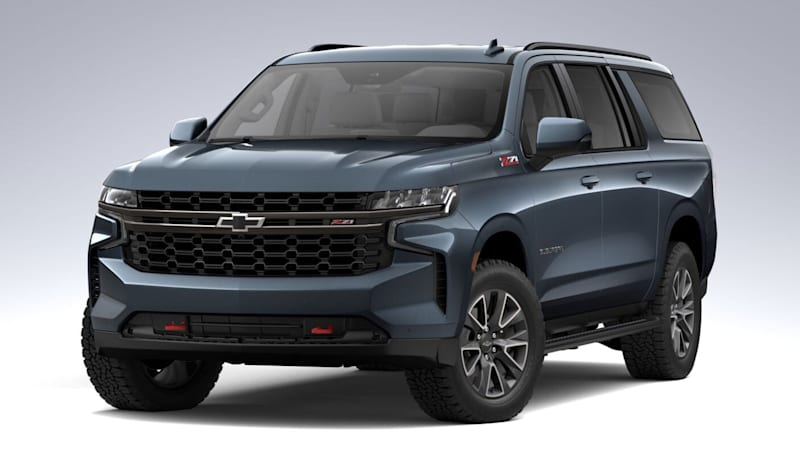 2021 Chevrolet Tahoe and Suburban configurators now fully operational