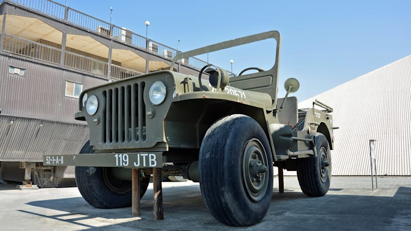 The Rainbow Sheikh's giant, fully-functional Jeep