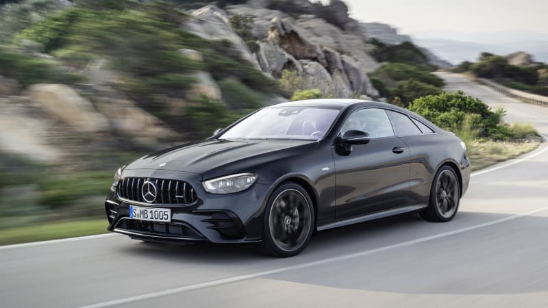 Mercedes-AMG E-Class coupe, cabriolet won't have V8 or PHEV