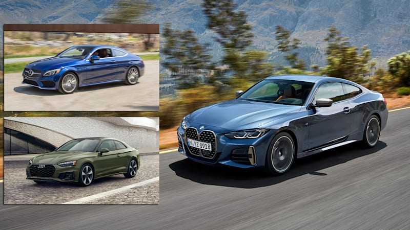 2021 BMW 4 Series vs. Mercedes-Benz C-Class vs Audi A5 | How the coupes compare on paper