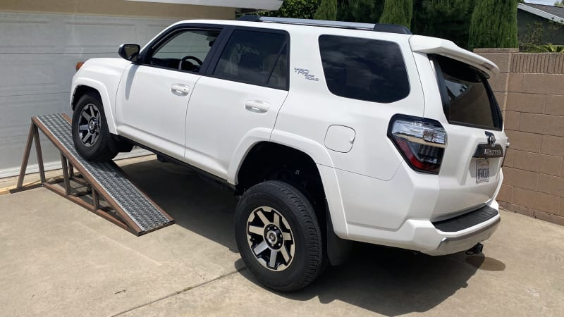 Toyota 4Runner TRD Off-Road Suspension Flex Test