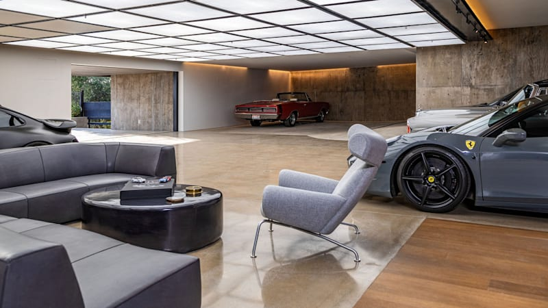 A $62M L.A. house with 15-car garage is fit for a family of gearheads