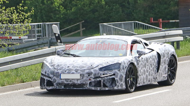 McLaren's V6 plug-in hybrid successor to the 570S will be delayed