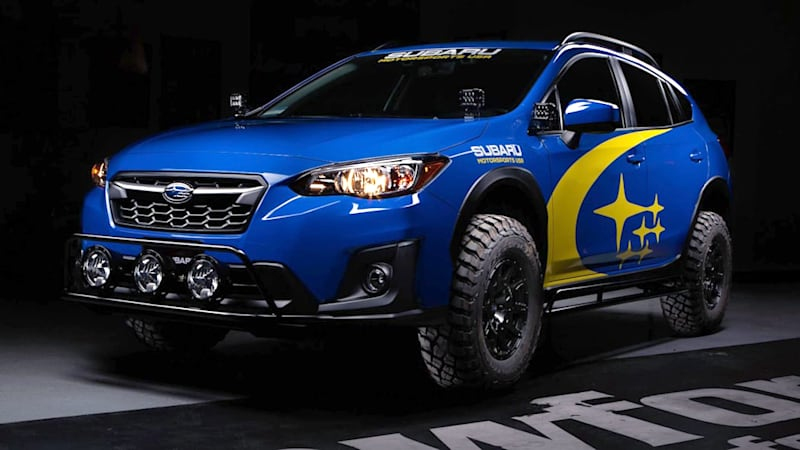 Subaru Crosstrek Gets A Baja Lift From Crawford Performance Autoblog
