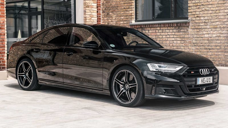 Abt Audi S8 ramps the big, luxury sedan up to 690 horsepower