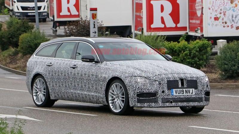 2021 jaguar xf sportbrake and xf sedan spied in camo with