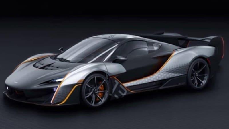 McLaren applies to trademark 'Sabre' with USPTO