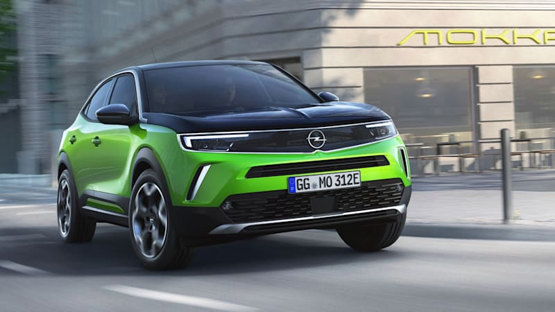 2021 opel mokka subcompact crossover revealed for europe