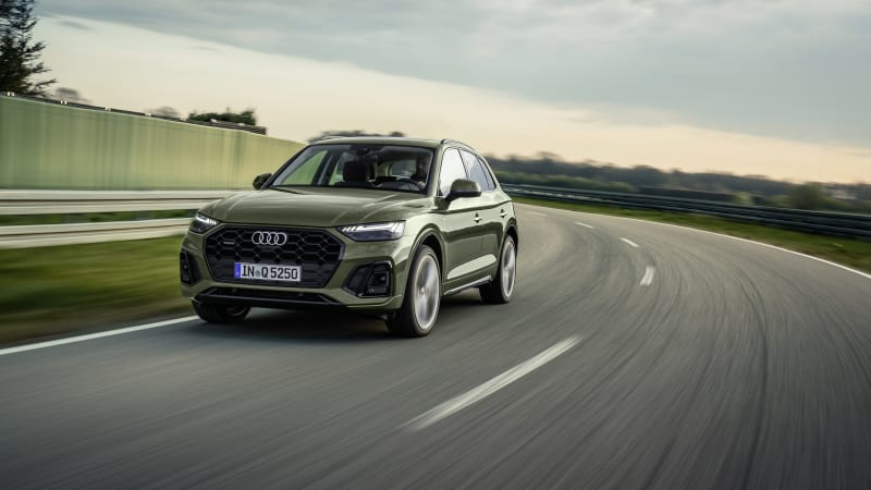 2021 Audi Q5, SQ5 introduced with design and tech changes